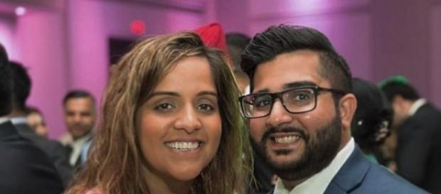 Kooner, pictured with her fiancée, is a birthright Canadian citizen with a Canadian passport. [Photo via Manpreet Kooner/CBC News]