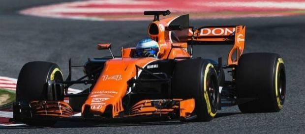 McLaren Honda MCL32 durante la primera semana de Test en Montmeló
