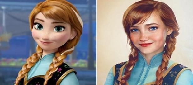 Princesas da Disney de uma forma diferente