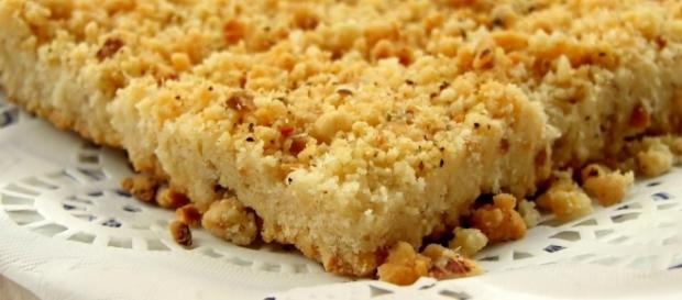 Sbrisolona al parmigiano | il forno incantato | Montersino - ilfornoincantato.it