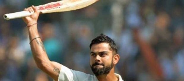 Virat Kohli's Indian test captain. ndtv.com BN support
