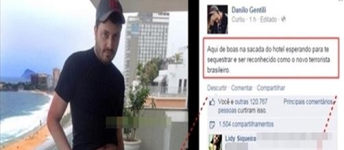 Danilo foi zuado por fãs que não perdoaram erro minúsculo em foto.