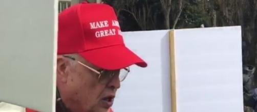 Donald Trump rally, via Twitter