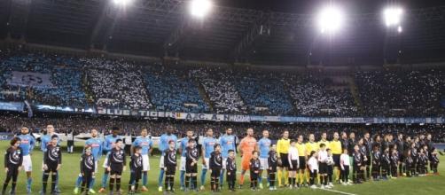 El Nápoles y el Real Madrid, minutos antes del encuentro |Diario As