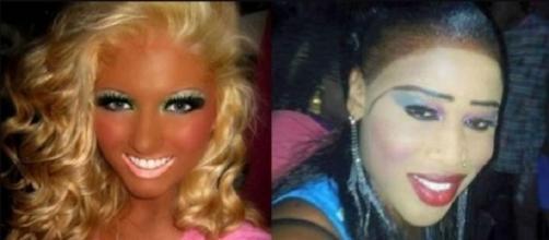 Exageros na maquiagem feminina