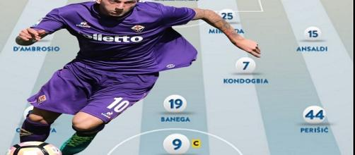 La nuova Inter con Federico Bernardeschi