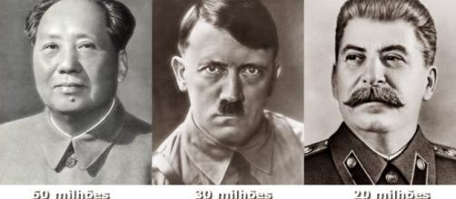 Mao Tse Tung, Hitler e Estaline foram os mais mediáticos ditadores sanguinários do século XX