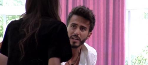 Marco y Aylén acabaron discutiendo de nuevo en la última fiesta de GH VIP