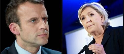 Marine Le Pen talonnée par Emmanuel Macron