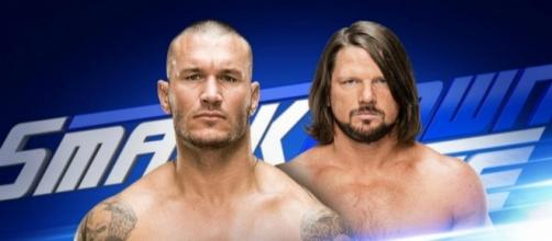 Randy Orton vs. AJ Styles was the main event for the latest 'SmackDown Live' episode. [Image via Blasting News image library/inquisitr.com]
