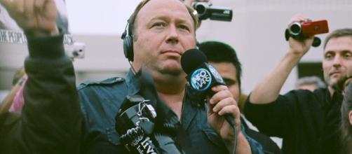 Raw Story reports that it is 'likely' that President Trump gets his news from Alex Jones of InfoWars / Sean P. Anderson, Flickr CC BY-SA 2.0