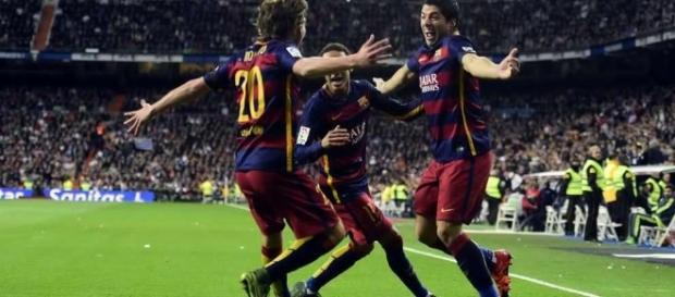 Con gol de último minuto, Sergi Roberto le da el pase al Barcelona a los cuartos de final de la Liga de Campeones