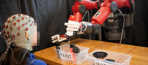 Controlling robots using their mind is every child's dream / Photo via Mind-Controlled Robots Make Machines 'Natural Extension of Us' - newsweek.com
