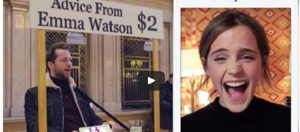 Emma Watson/Photo via screenshot, YouTube