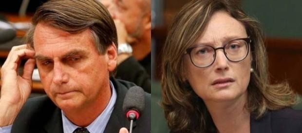 Jair Bolsonaro tem recurso negado e permanece como réu por insultar Maria do Rosário (Foto: Reprodução)