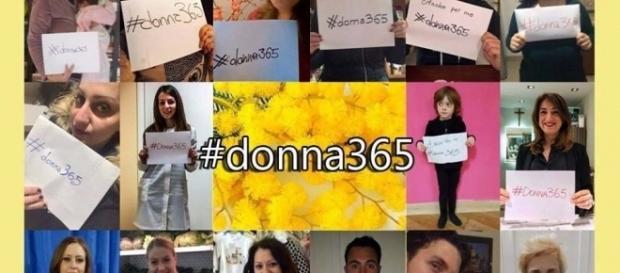 L'hashtag #donna365 al centro della campagna