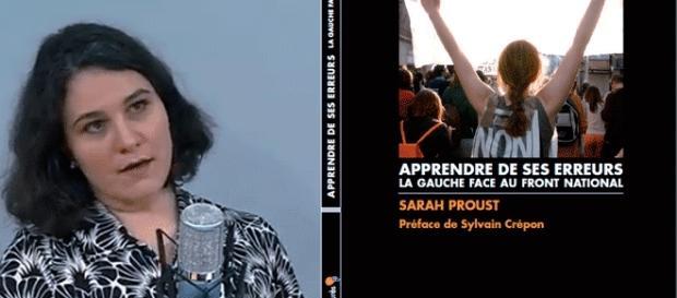 Pour qui votera Marine Le Pen, une saine lecture : Sarah Proust, Apprendre de ses erreurs