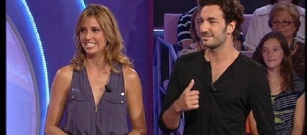 Sandra Sabatés ('El Intermedio'), invitada a un programa de su futura nueva cadena, TV3, con el actor Miki Esparbé.