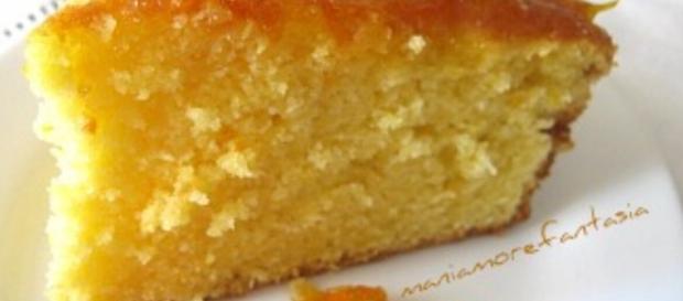 Torta Panasonic d'arancio con piccola variante.