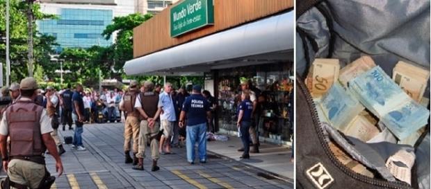 Um empresário foi assaltado e baleado após sacar 150 mil em um banco.