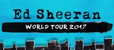 Ed Sheeran world tour (Blasting News Library)