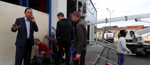 Gironde : la Médoquine vandalisée avant la venue de Macron