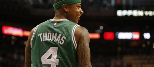 Isaiah Thomas consiguió una victoria muy importante frente a los Warriors.