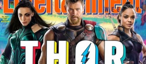 """Thor: Ragnarok"" - Chris Hemsworth cuts off hair for character's new look. / Photo from 'Digital Spy' - digitalspy.com"