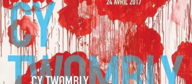 Exposition Cy Twombly, jusqu'au 24 avril au Centre Pompidou. (c) 2017, Centre Pompidou.
