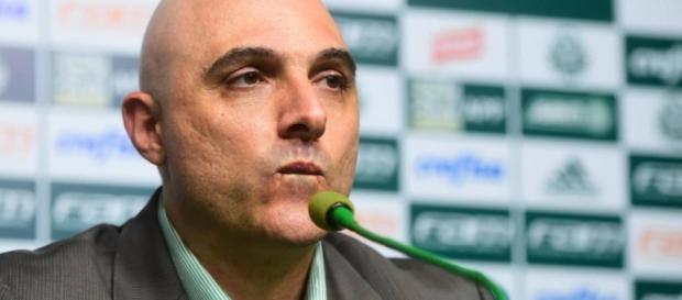 Maurício Galiotte, presidente do Palmeiras