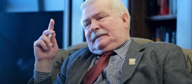 Wałęsa wpadł w szal, gdy uslyszal pytanie