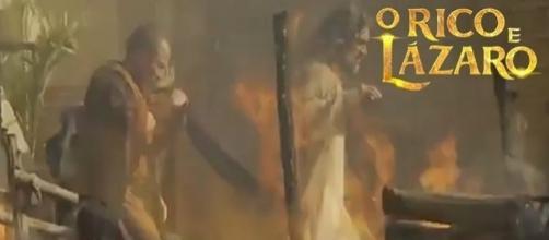 Em breve na novela 'O Rico e Lázaro': Capítulo Especial da destruição de Jerusalém