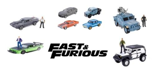 Fast & Furious toys and action figures from Mattel - Image via www.shop.mattel.com used with permission