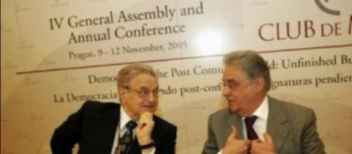 Fernando Henrique Cardoso e o Bilionário George Soros