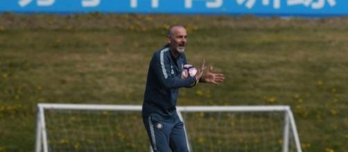 Inter, Pioli: 'Rimaniamo concentrati sul presente, pensiamo alla Sampdoria' | inter.it