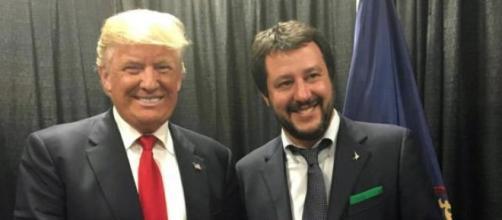 Matteo Salvini e Donald J. Trump