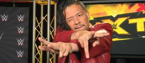 Shinsuke Nakamura fights for the NXT title at 'NXT TakeOver: Orlando' [Image via Blasting News image library/inquisitr.com]