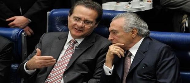 Antigos aliados, Renan Calheiros e Michel Temer rompem aliança após ataques do Senador ao presidente.