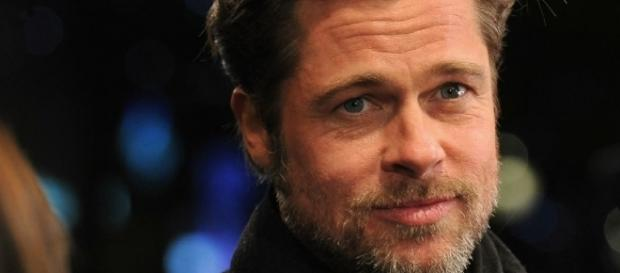 Brad Pitt é um dos galãs de Hollywood