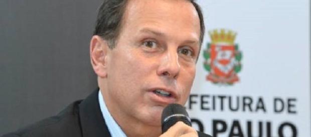 João Doria rebateu militante político que o chamou de golpista (Foto: Reprodução)