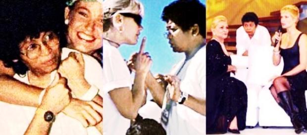 Marlene Mattos e Xuxa - Imagem/Googe