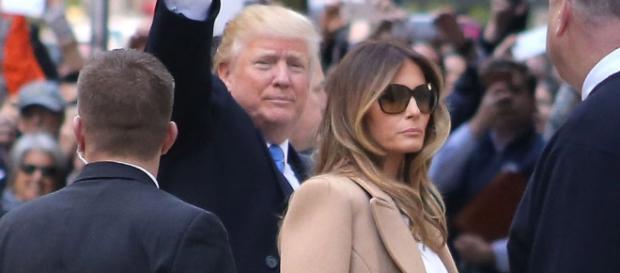 Melania Trump Wears Christian Louboutin to Vote With Donald Trump ... - footwearnews.com