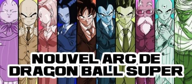 Nouvel arc de Dragon Ball Super - La survie sociale - Poisson d'avril officiel 2017 par la TOEI