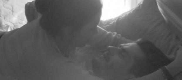O casal já protagonizou várias cenas sexuais