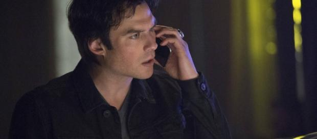 "Ian Somerhalder em ""The Vampire Diaries"""
