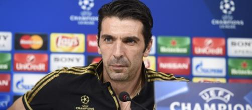 Conferenza Stampa Buffon pre Juventus vs Barcellona