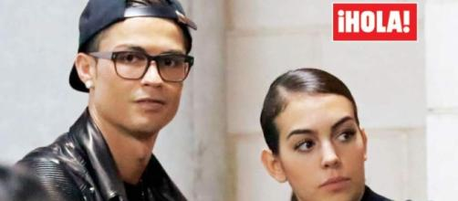 Cristiano Ronaldo se deja ver en público con su nueva novia ... - laprensa.hn
