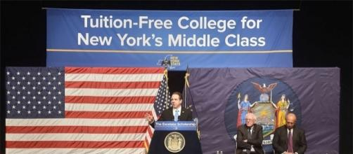 Cuomo's free tuition plan - Photo: Blasting News Library - northcountrypublicradio.org