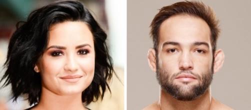 Demi Lovato broke up With Fighter Guilherme Vasconcelos/photo via Us,usmagazine.com