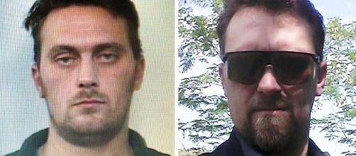 Doppia identità per il killer di Budrio: la foto a destra è presa dal profilo Facebook di Ezechiele Norberto Feher, forse il suo vero nome.